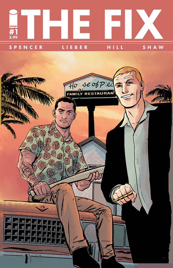 The Fix #1 Cover