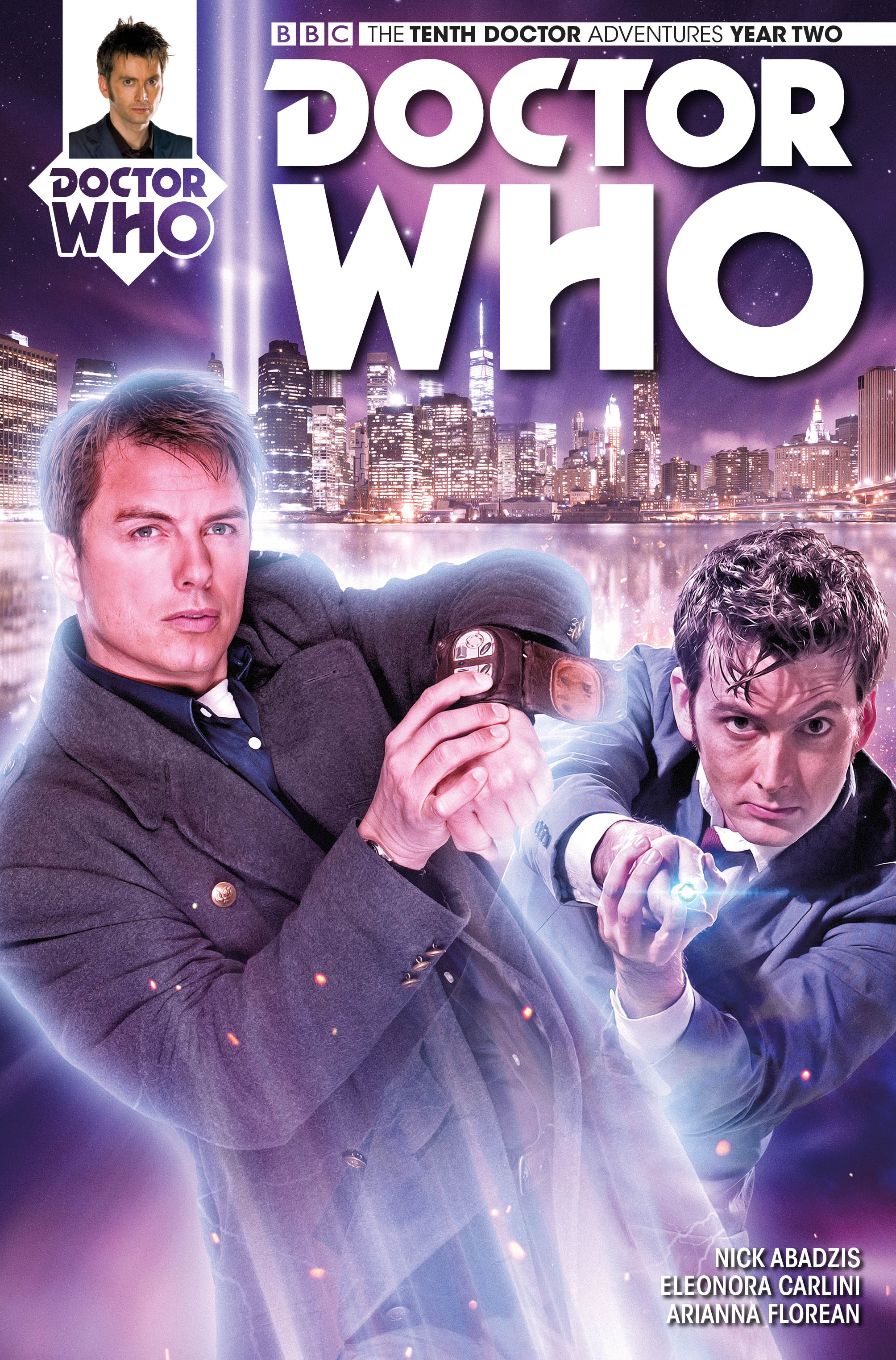 Doctor Who: The Tenth Doctor #2.6 Cover