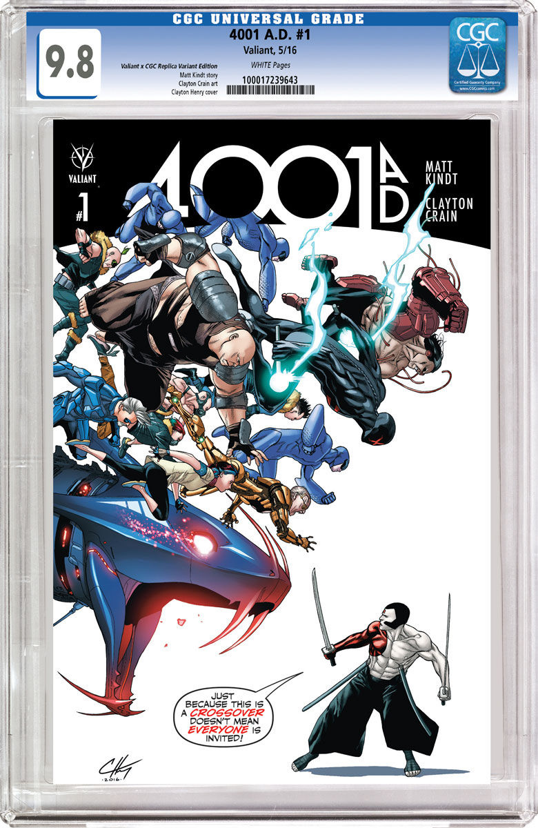4001 A.D. #1 Cover