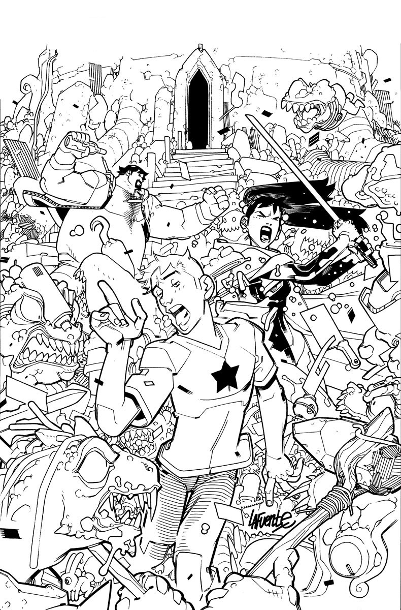 A&A: THE ADVENTURES OF ARCHER & ARMSTRONG #3 Cover