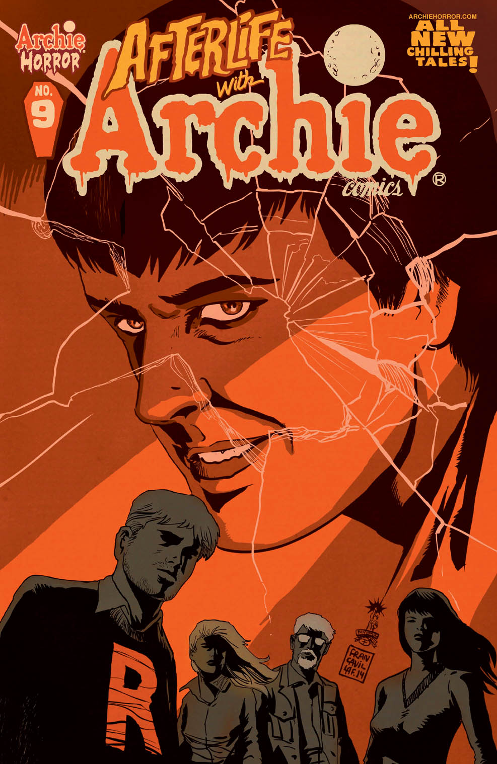 Afterlife with Archie #9 Cover
