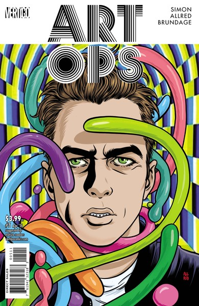 Art Ops #5 Cover