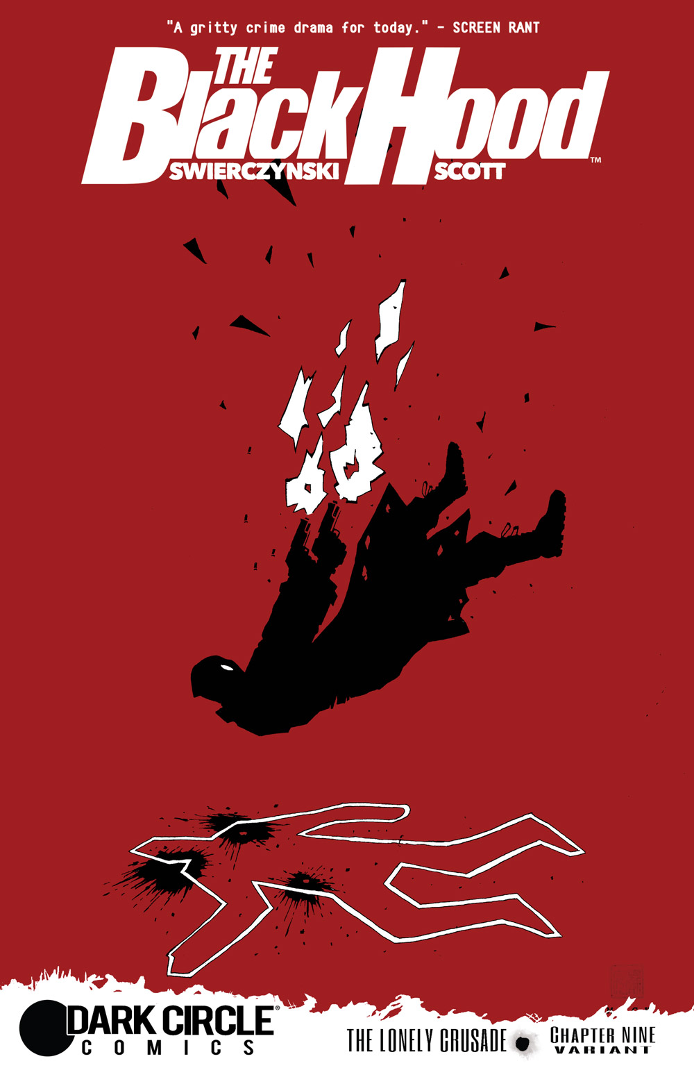 The Black Hood #9 Cover