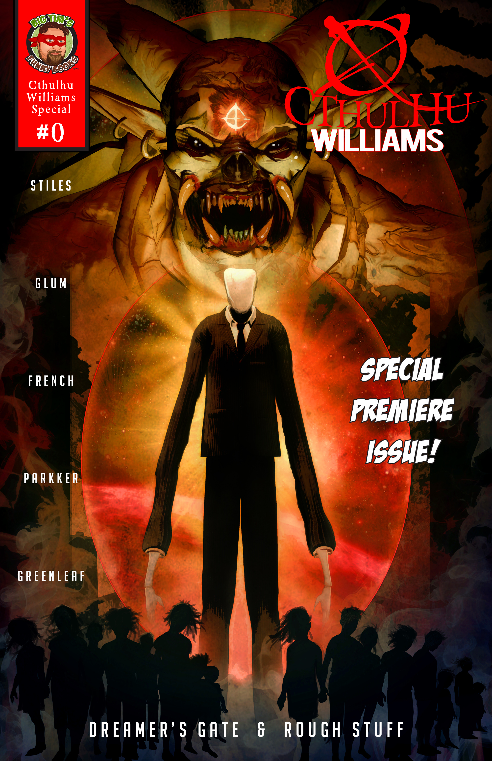 Cthulhu Williams #0 Cover