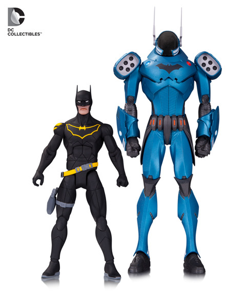 Designer Series Greg Capullo: GCPD Batman 2-Pack