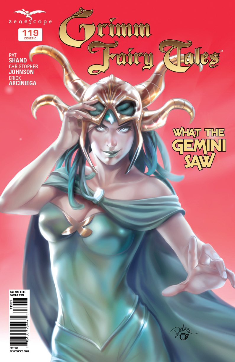 Grimm Fairy Tales #119 Cover