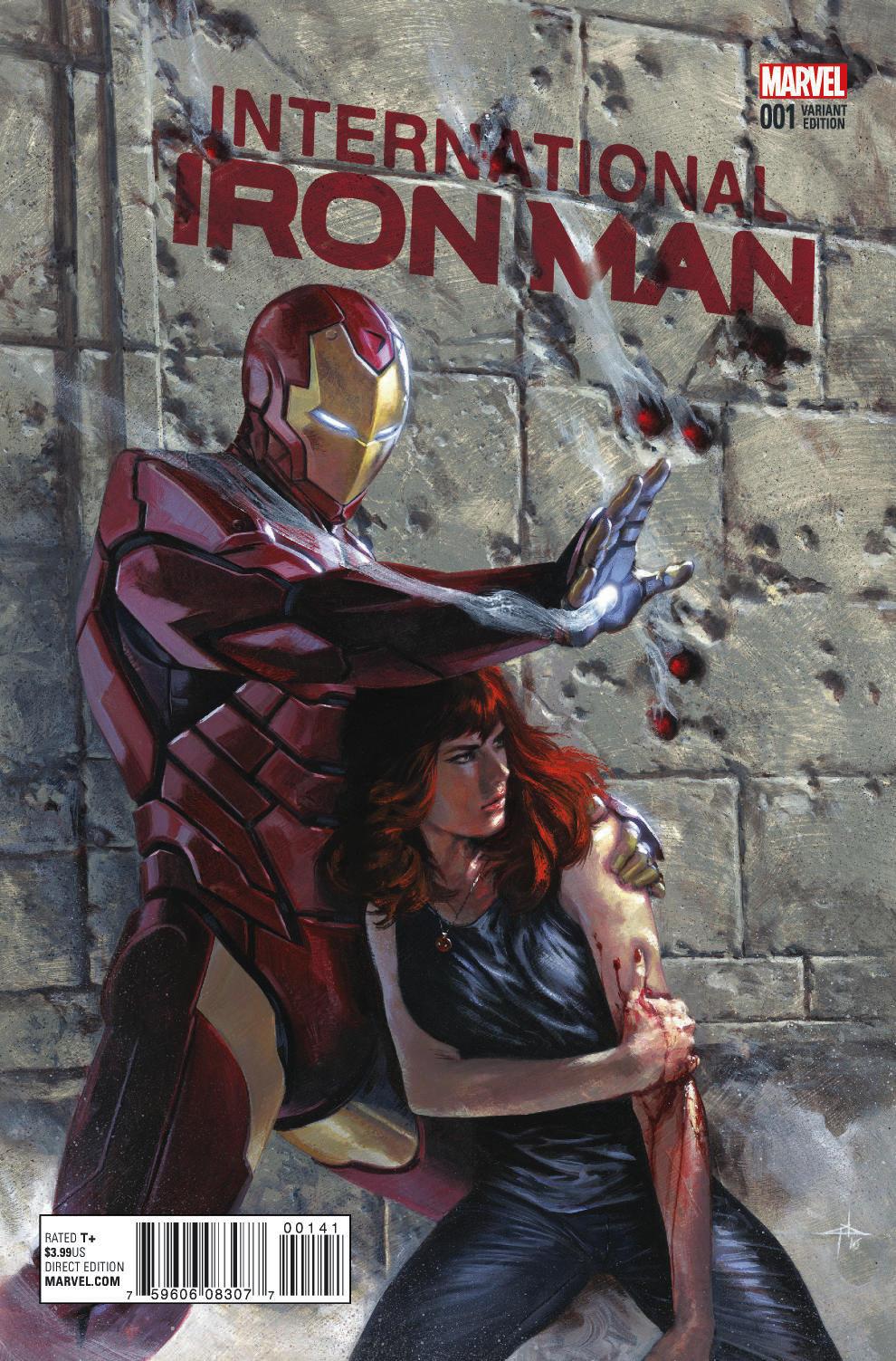 International Iron Man #1 Cover