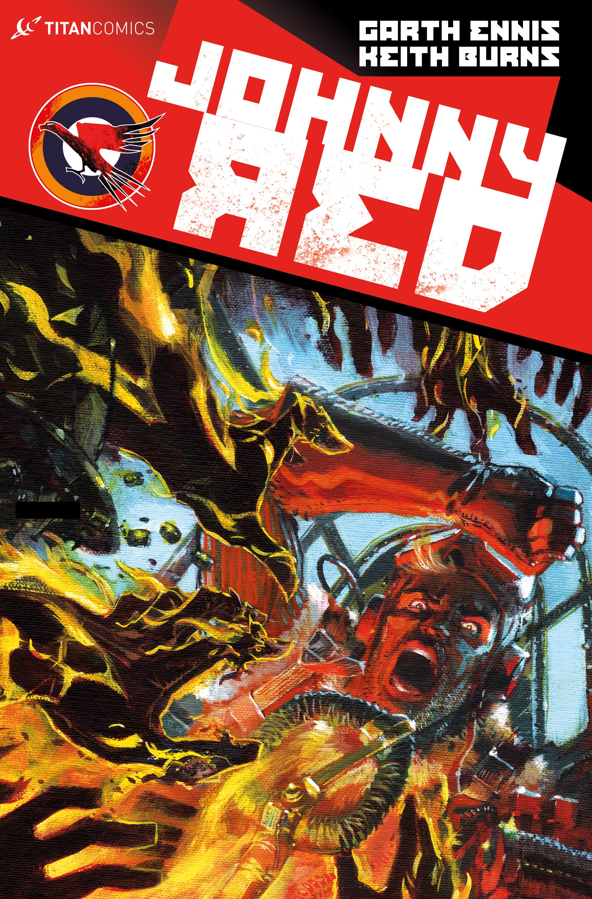 Johnny Red #4 Cover