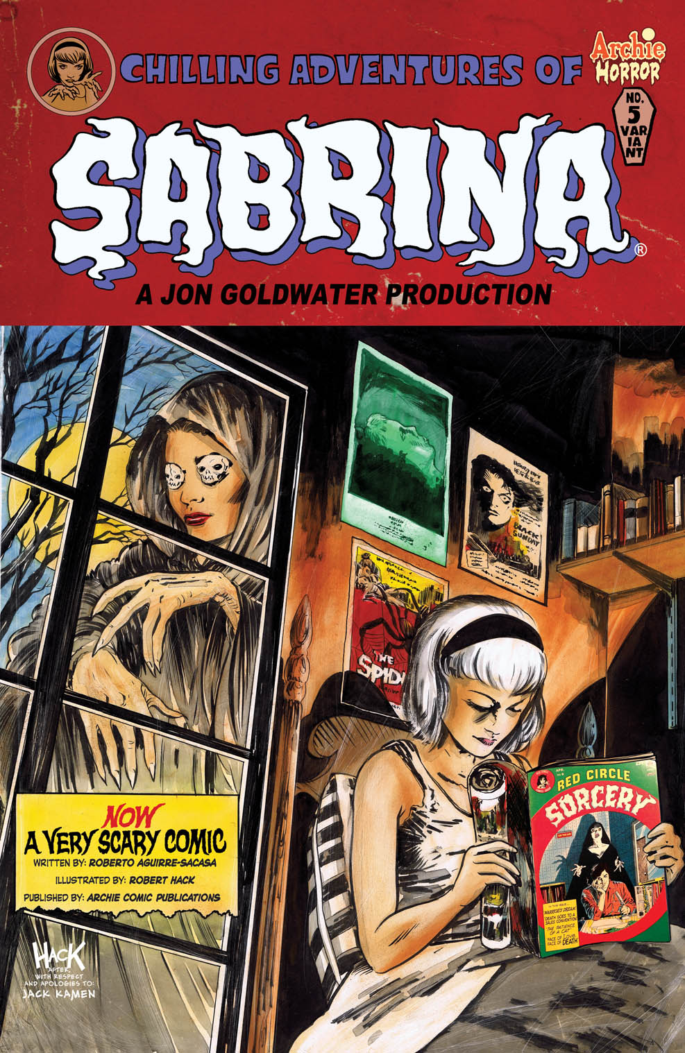Chilling Adventures of Sabrina #5 Cover