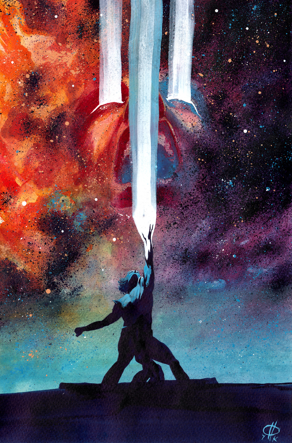 Infinity Entity #1 Cover