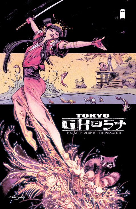 Tokyo Ghost #3 Cover
