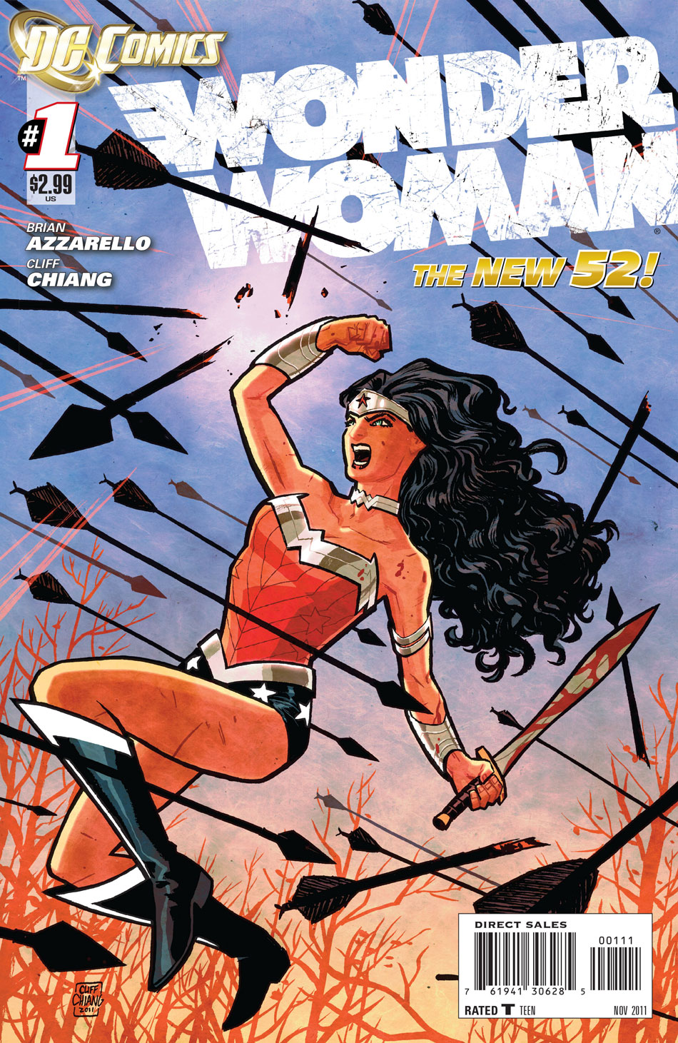Wonder Woman #1 Cover