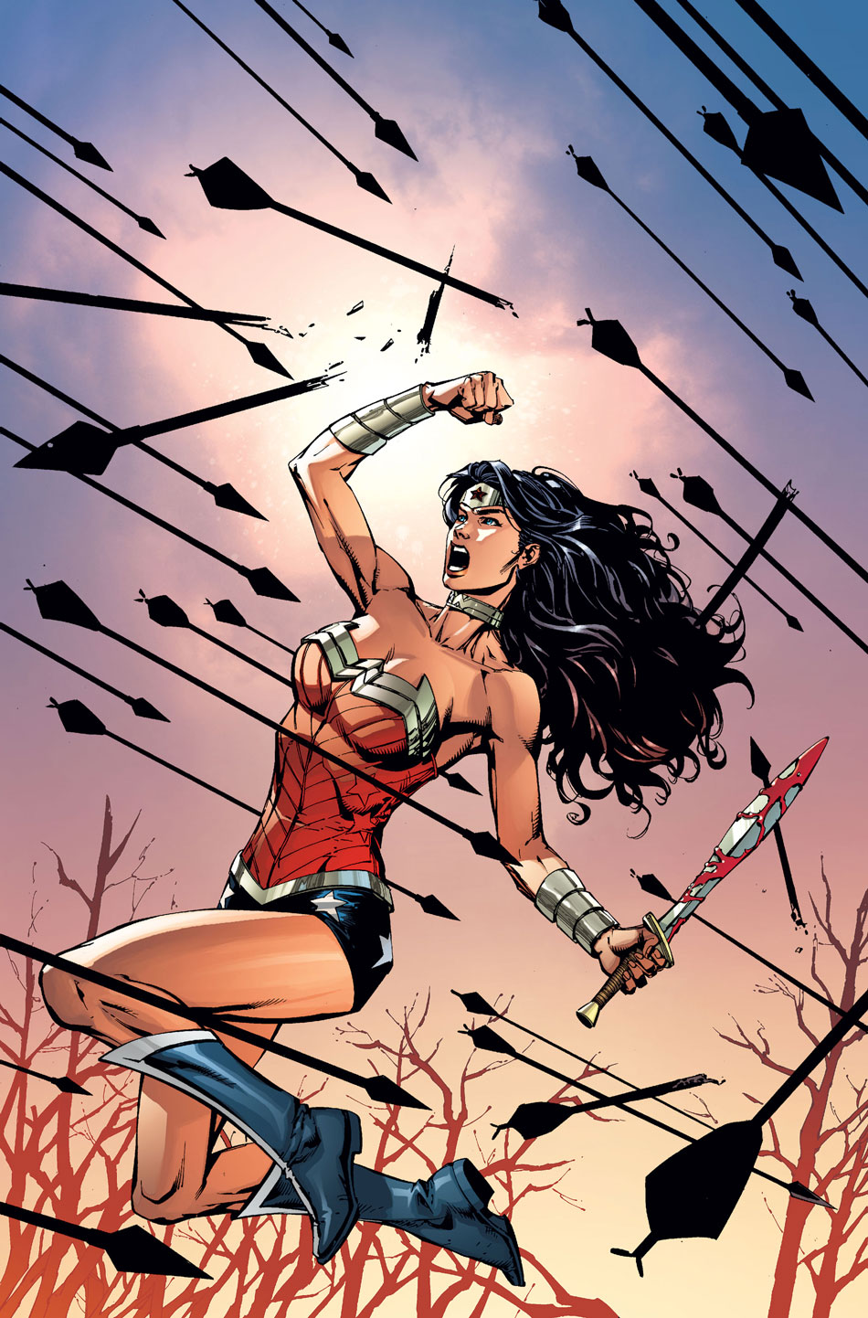 Wonder Woman #52 Cover