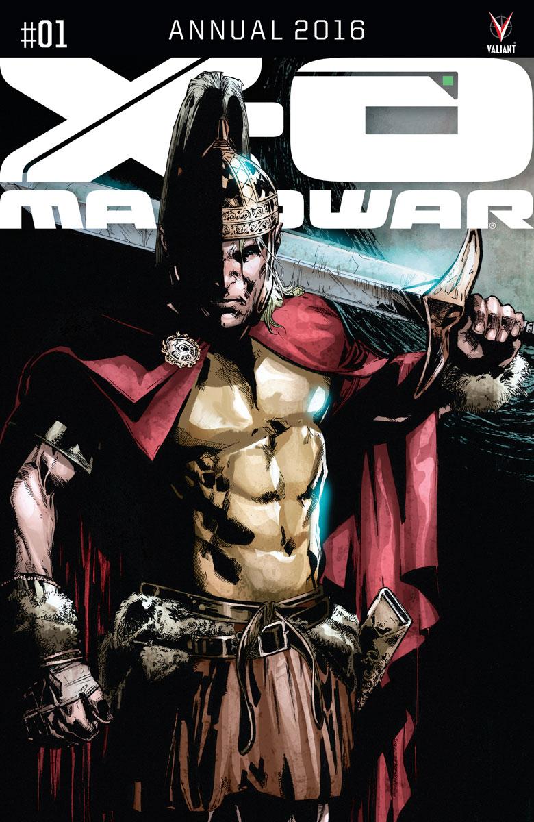 X-O MANOWAR ANNUAL 2016 #1 Cover