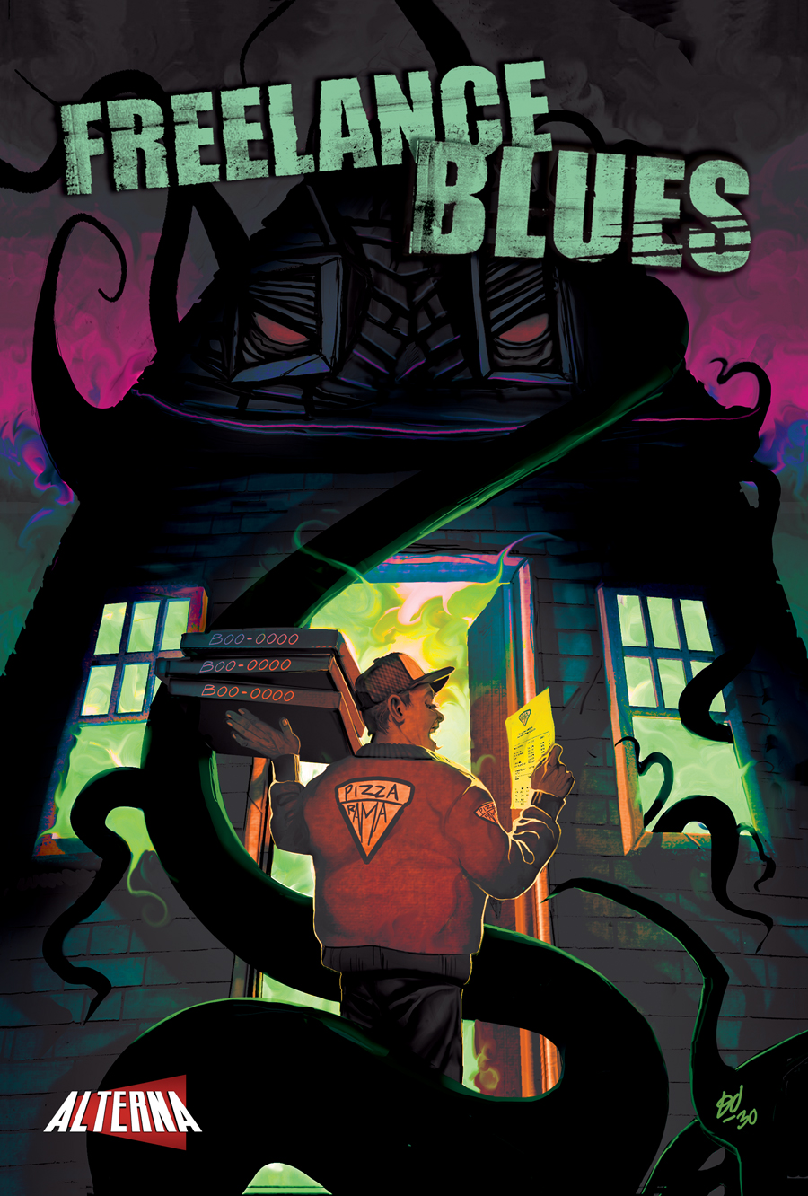 Freelance Blues #1 Cover