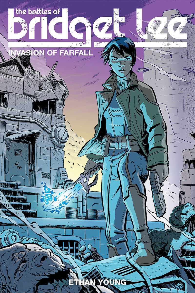 The Battles of Bridget Lee Volume 1: Invasion of Farfall Cover