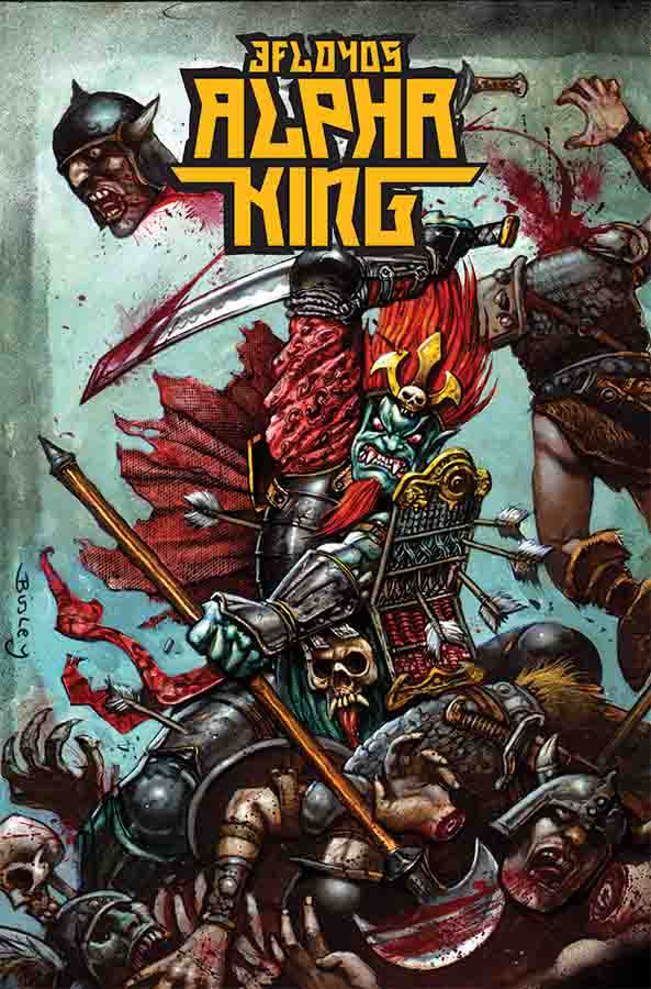 Alpha King #1 Cover