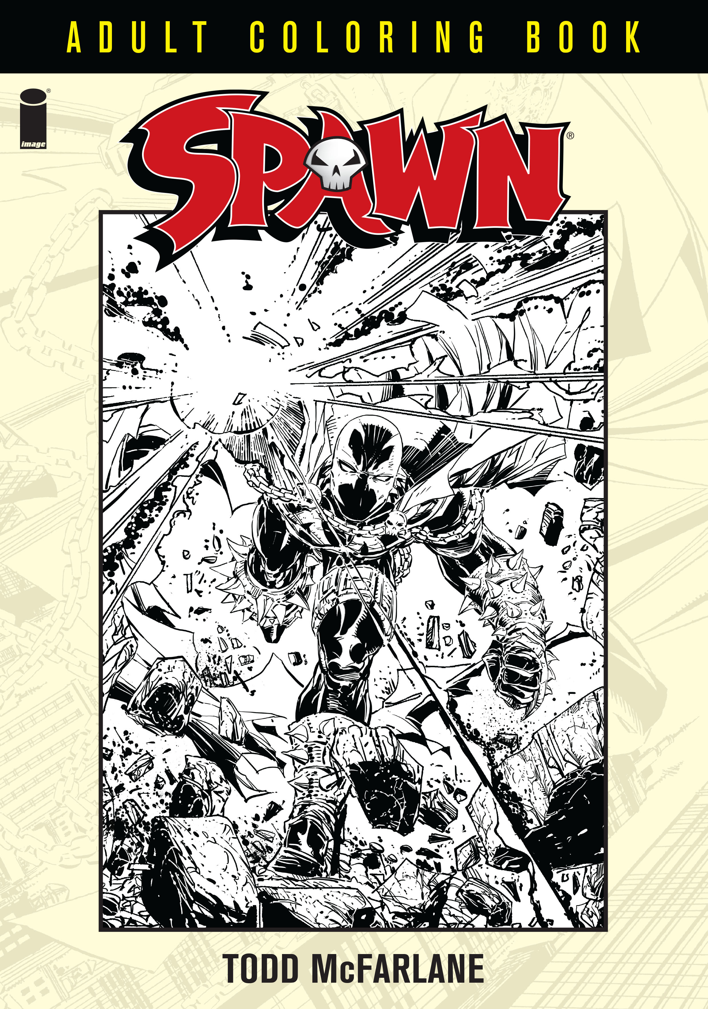 Spawn Coloring Book Coming from Image Comics - Bounding Into ...