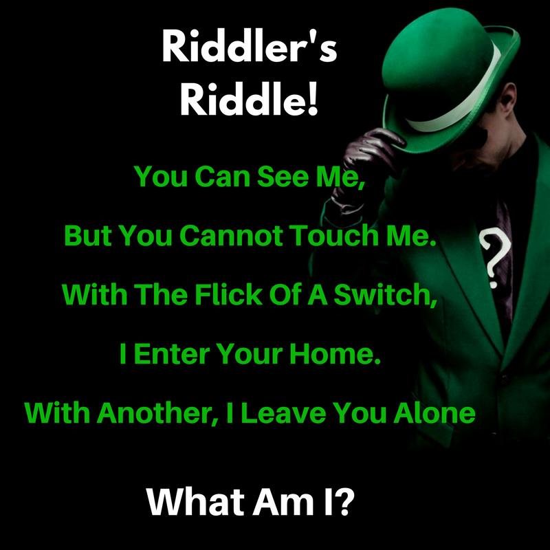 Riddler's Riddle