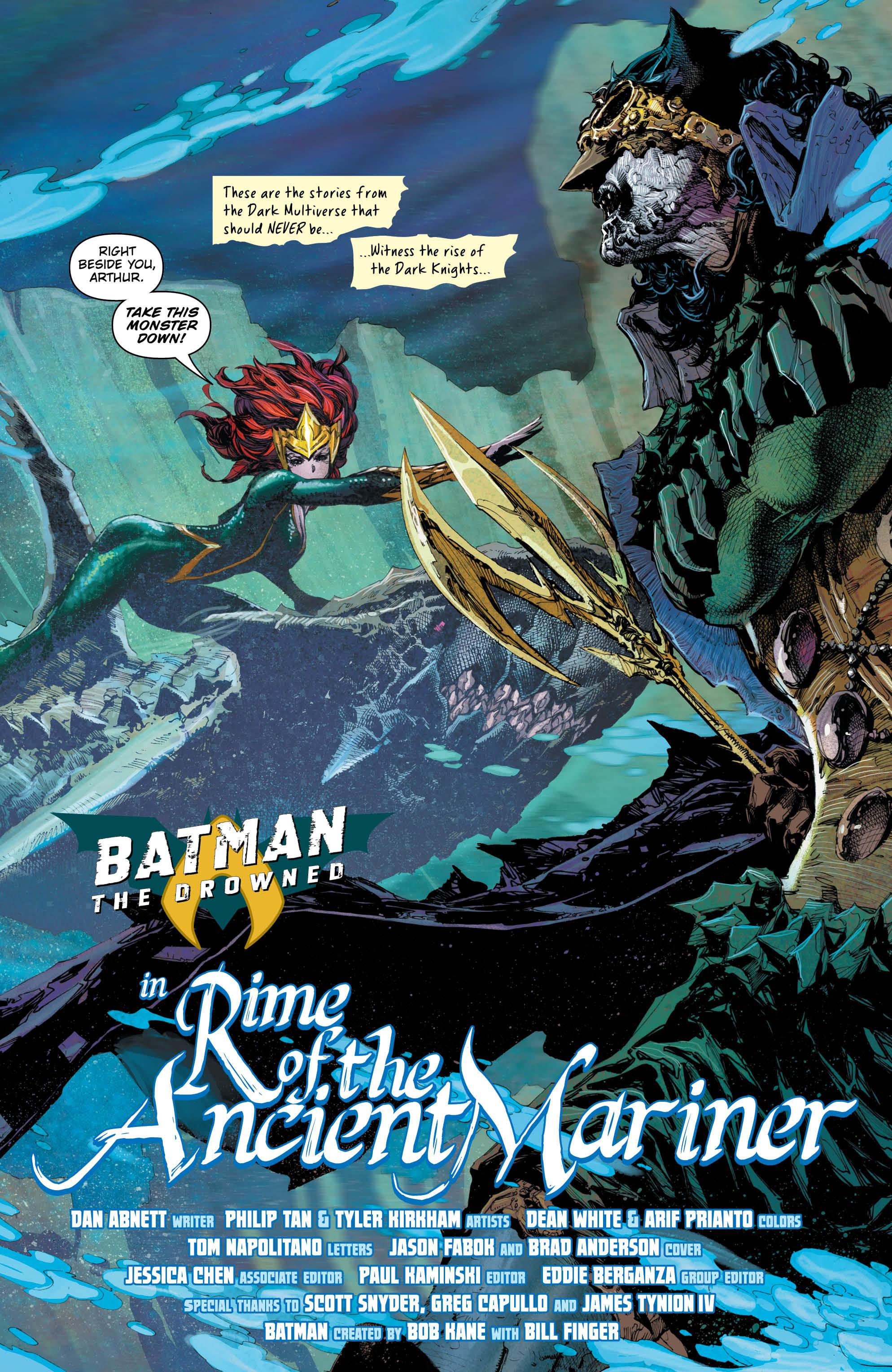 Batman: The Drowned #1