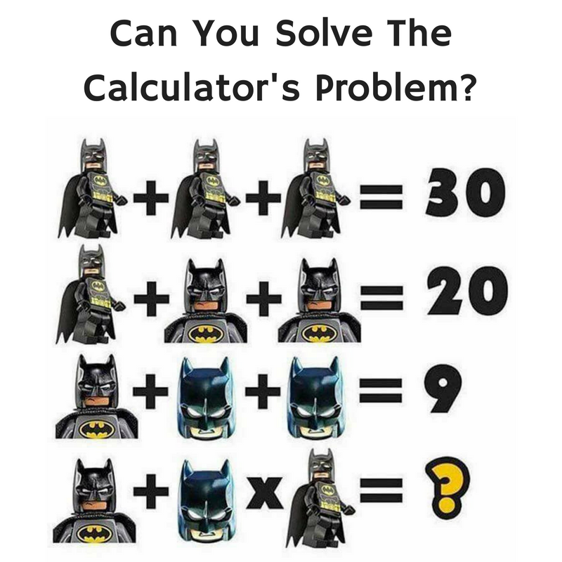 Calculator's Math Problem
