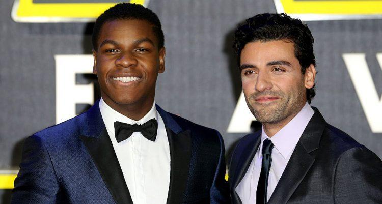 John Boyega and Oscar Isaac