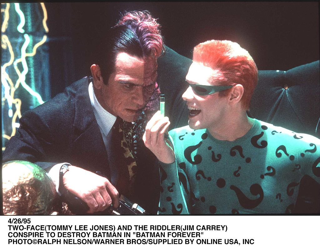 Two-Face and Riddler
