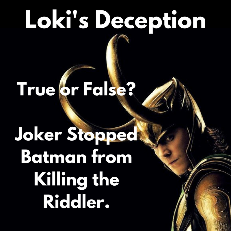 Loki's Deception War of Jokes and Riddles