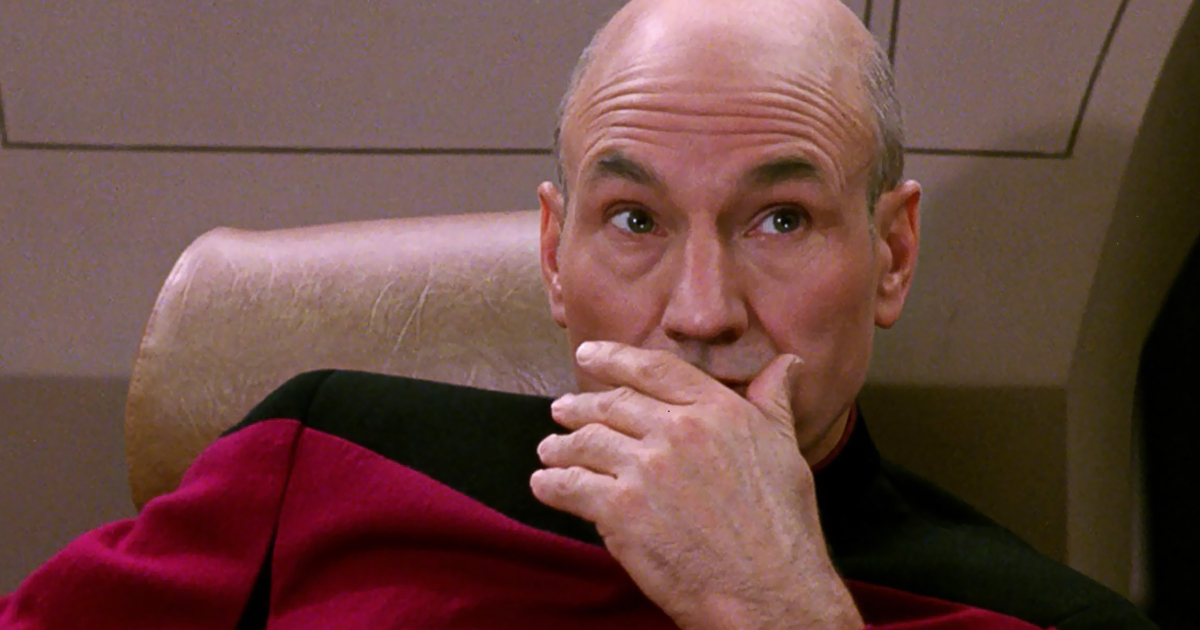 Star Trek Picard facepalm