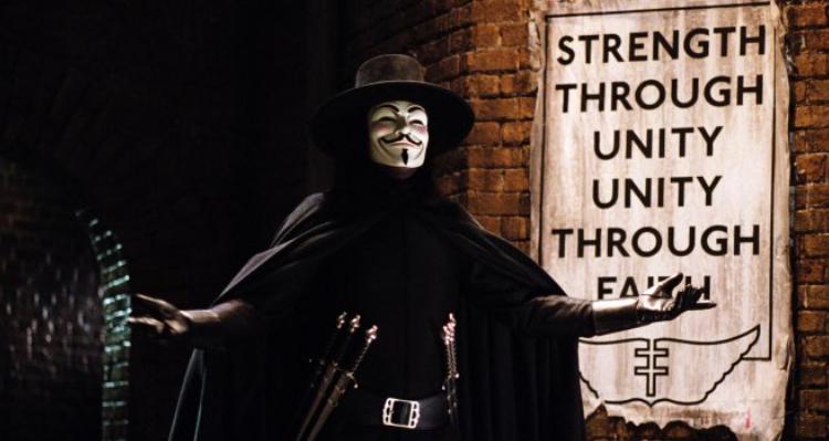 v for vendetta banner
