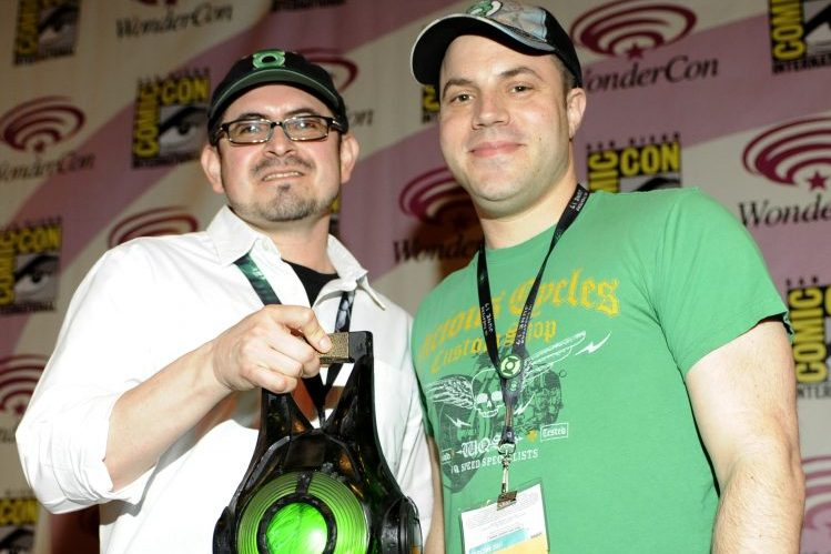 Eddie Berganza and Geoff Johns