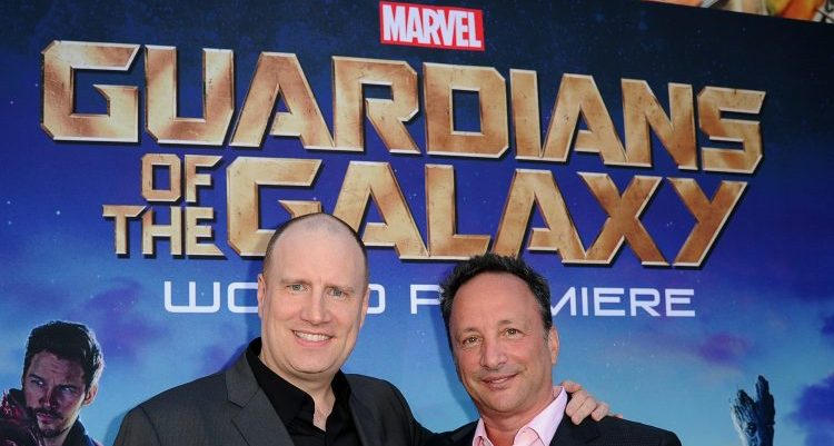 Kevin Feige and Louis D'Esposito