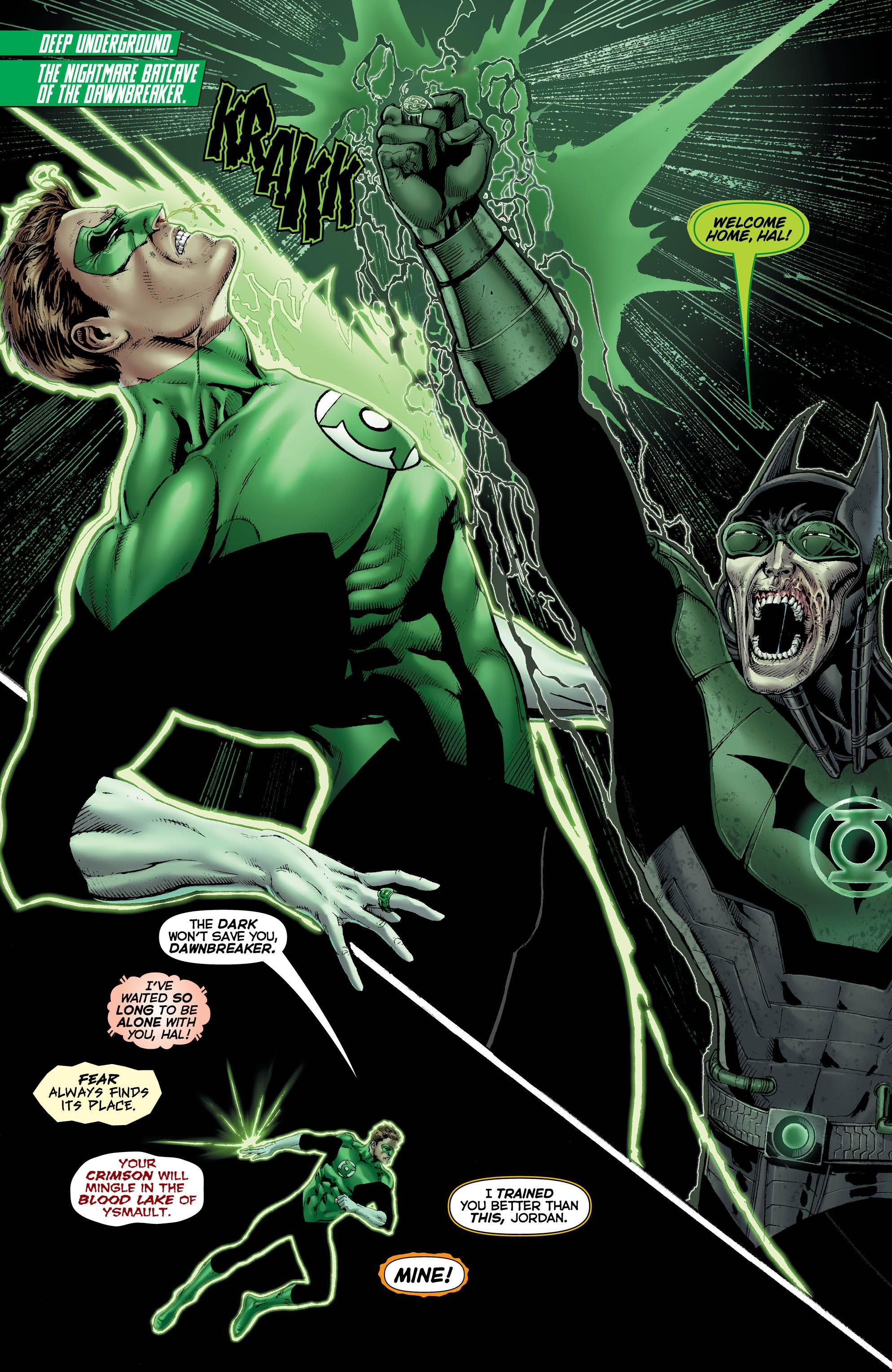 Hal Jordan and the Green Lantern Corps #32