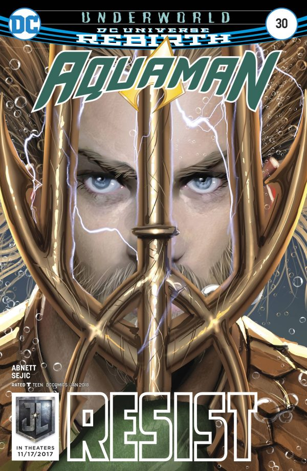 Aquaman 30 Cover resist