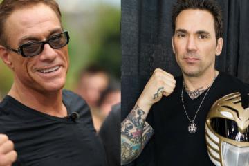 Jason David Frank and Jean-Claude Van Damme