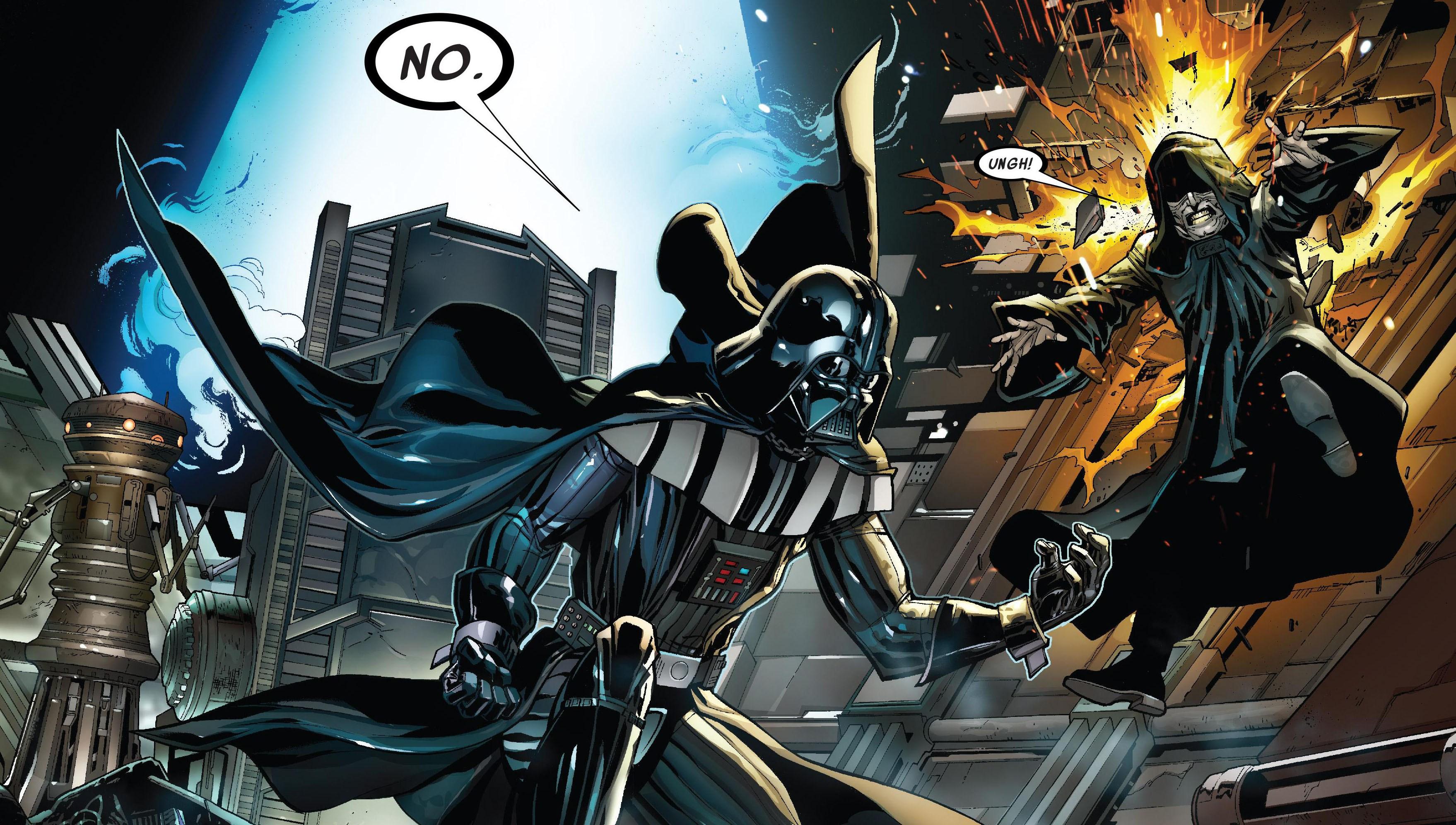 Vader vs Palpatine