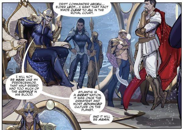 Aquaman 30 Panel 1