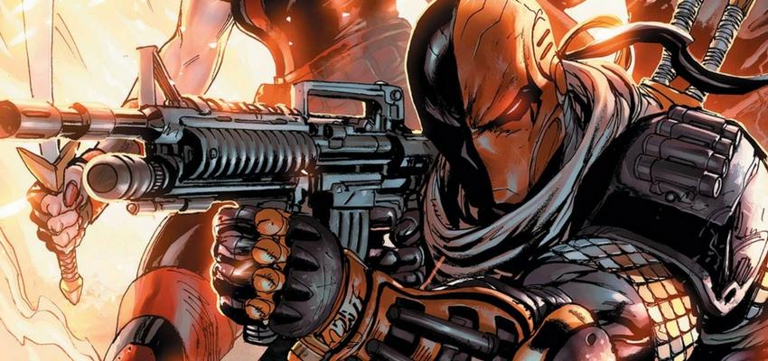 deathstroke will no longer appear on arrow bounding into comics