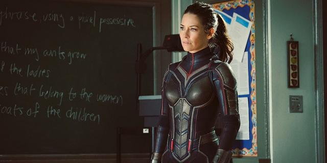 Evangeline Lilly as Hope van Dyne
