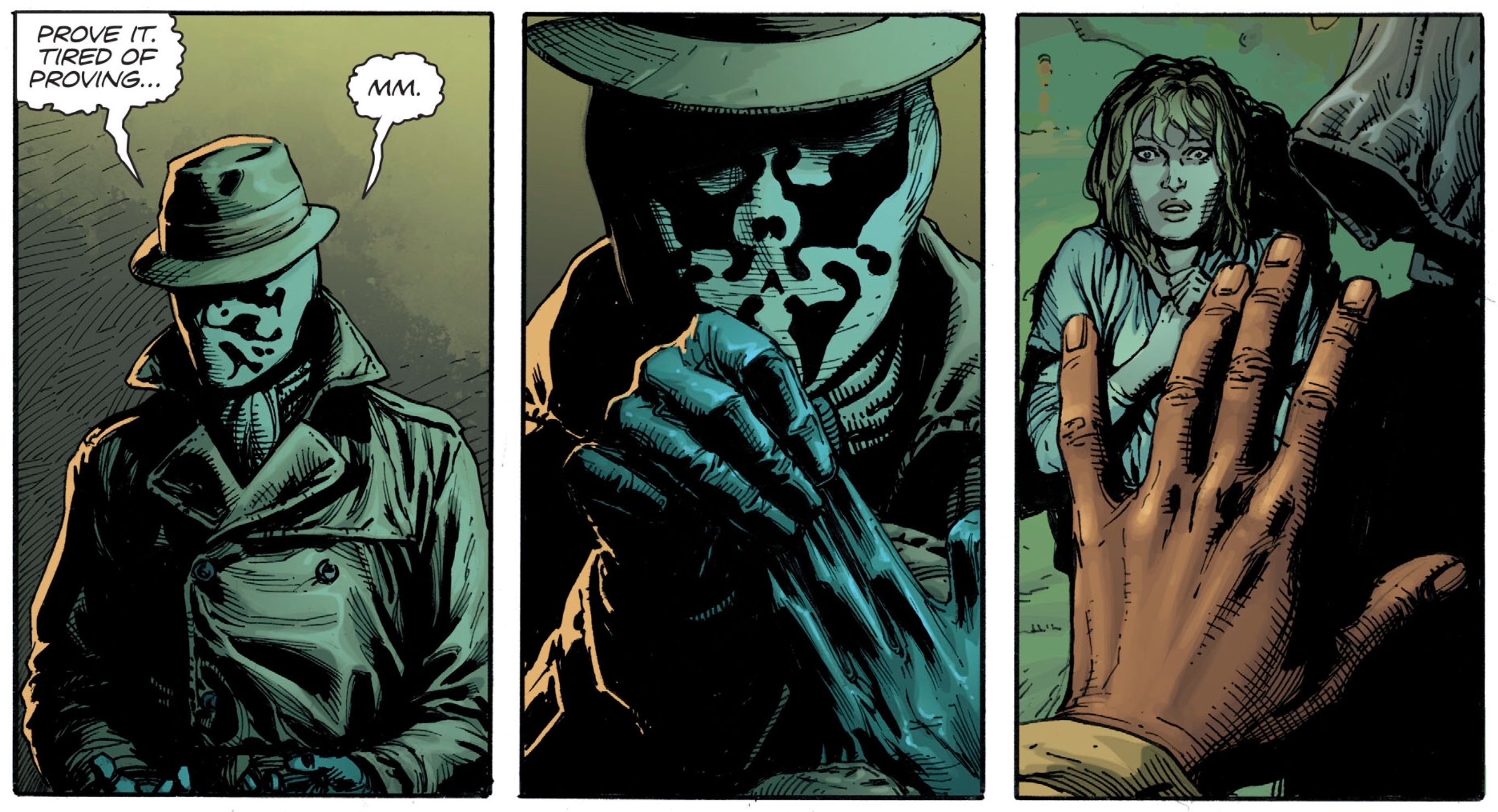 Rorschach Doomsday Clock #1