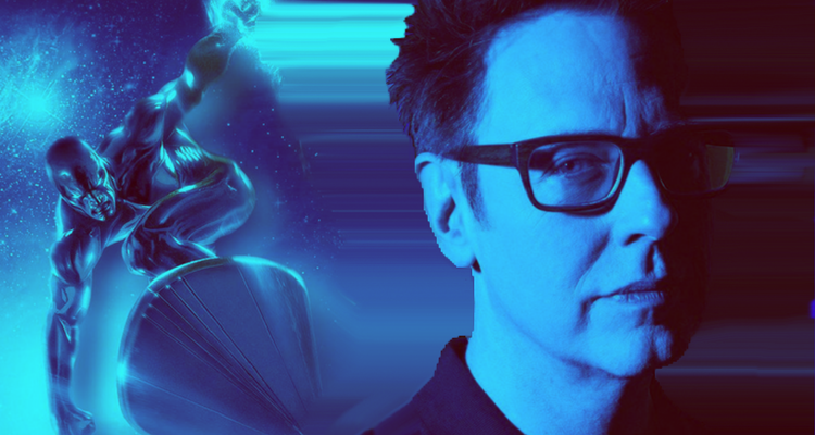 James Gunn and Silver Surfer