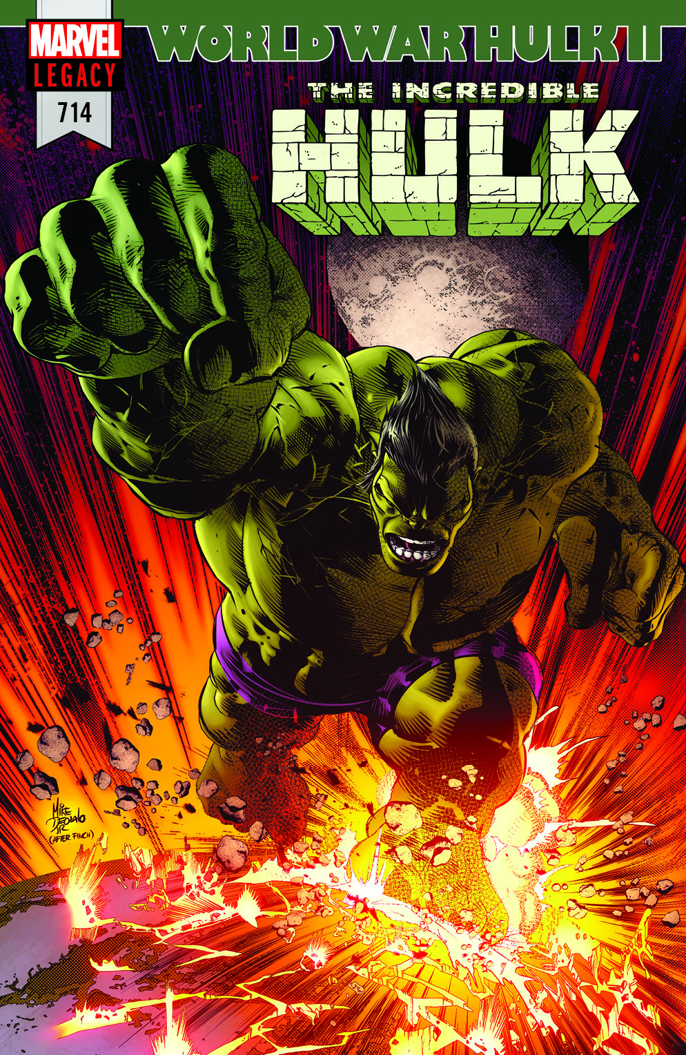 INCREDIBLE HULK #714: WORLD WAR HULK II, Part 1