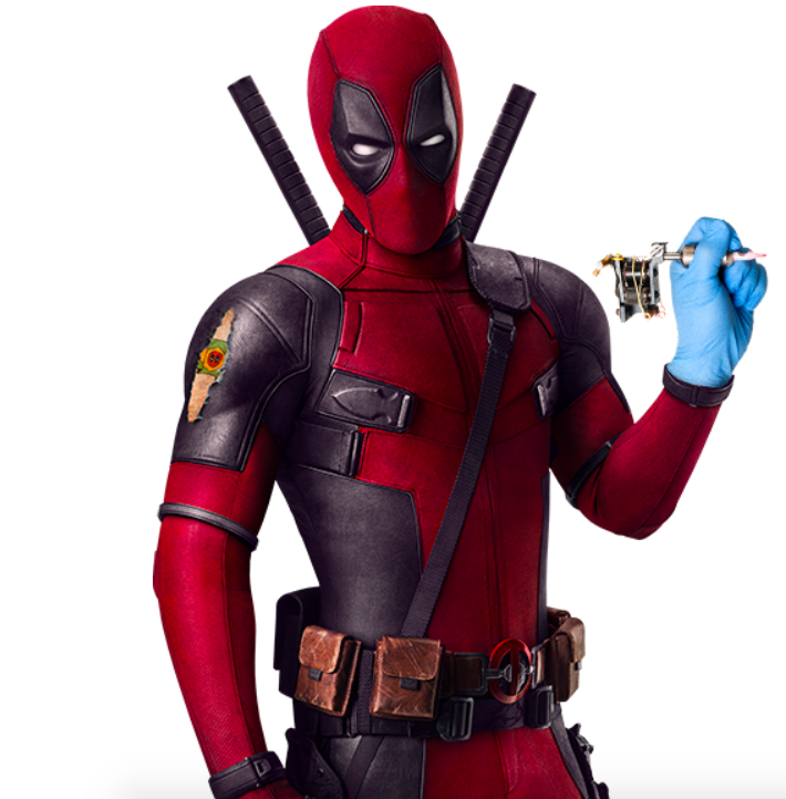 Deadpool 2 Tattoo Promo Brazil