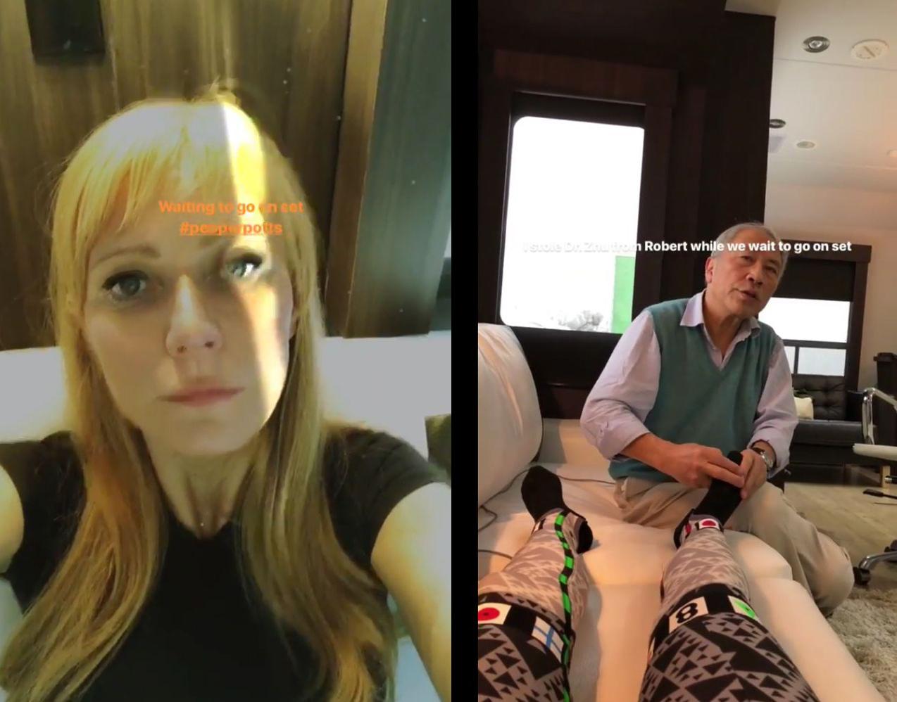 Gwyneth Paltrow Motion Capture
