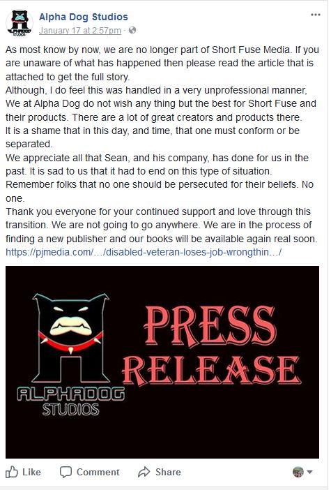 Alpha Dog Studios Press Release