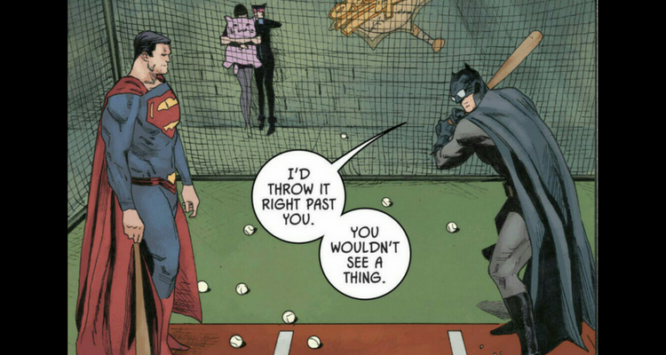 Batman vs Superman Baseball