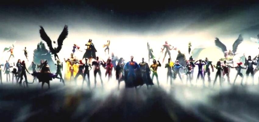 Warner Bros. & DC Films New Film Logo
