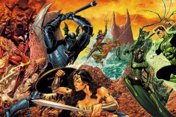 Dark Nights: Metal #5 - DC Art by Ethan Van Sciver