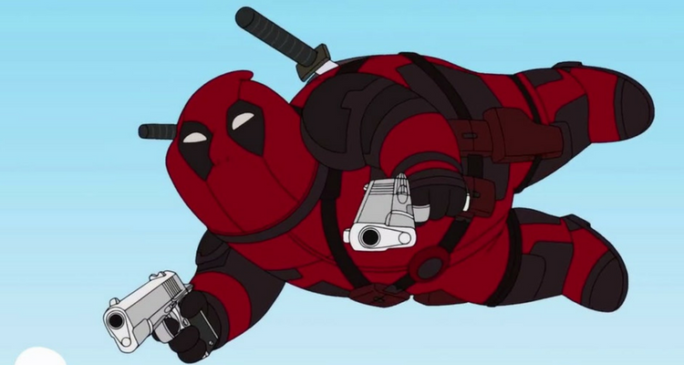 Deadpool Family Guy