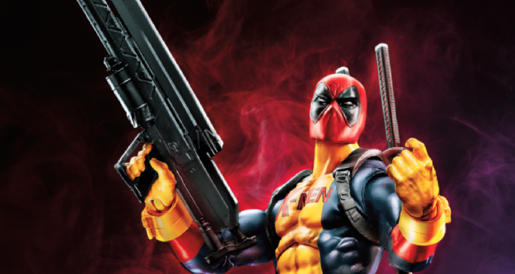 Deadpool X-Men costume Marvel Legends